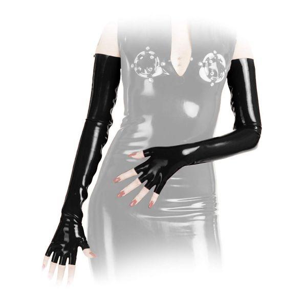 Anita Berg Latex Zip-Handschuhe