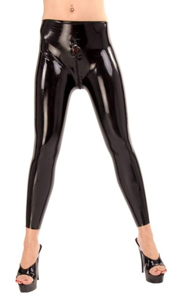 Anita Berg Latex Leggings mit Zip