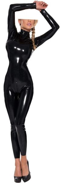 Ledapol Latex Overall mit Zip