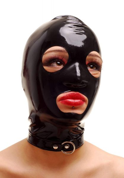 Anita Berg Latex Zip-Kopfmaske
