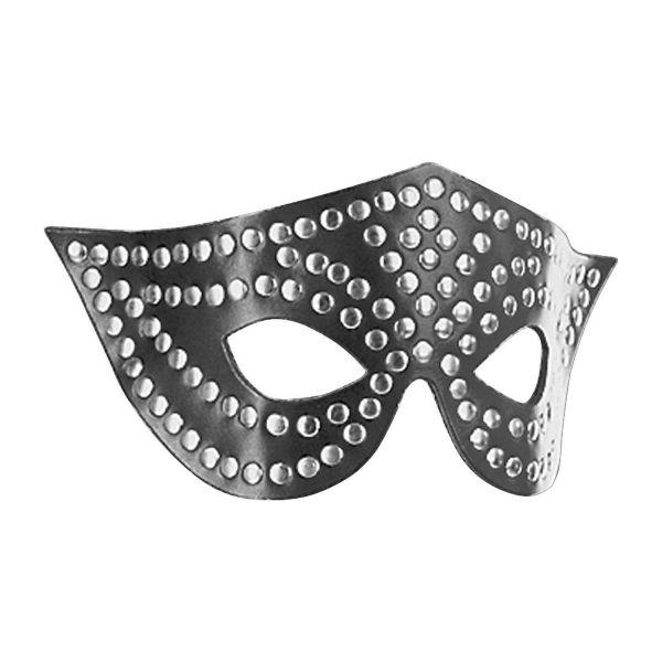 Ledapol Leder Fetisch Nieten Augenmaske