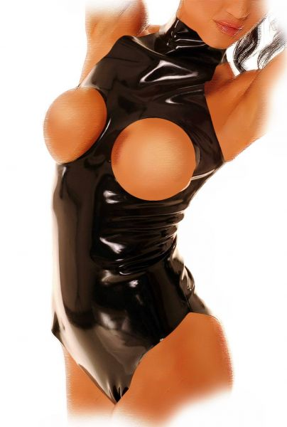Anita Berg Latex Neckholder Body ouvert