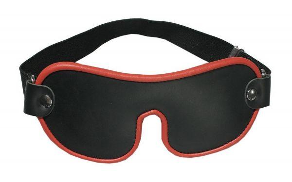 Ledapol Leder Bondage Augenmaske S-L
