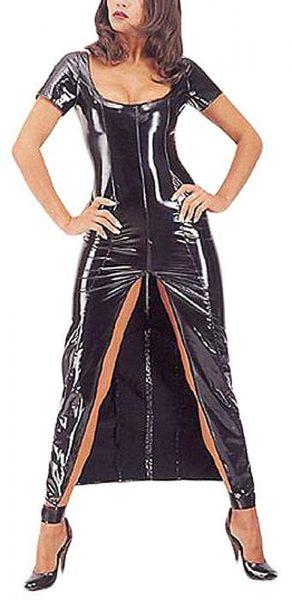 Ledapol Lack Kleid mit Zip