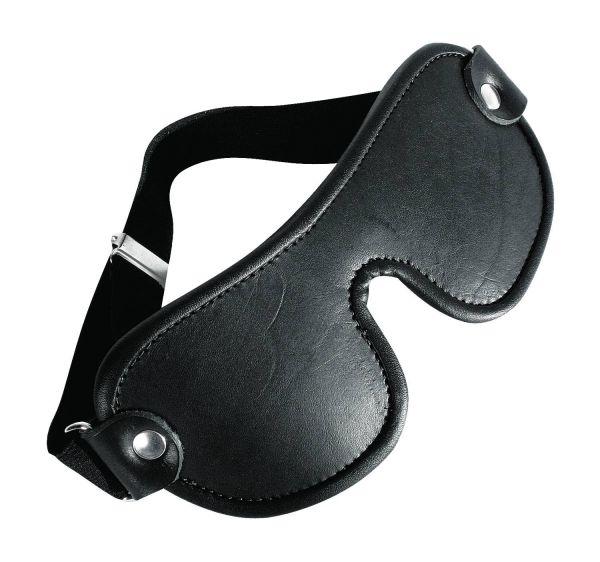 Ledapol Leder Fetisch Augenmaske S-L